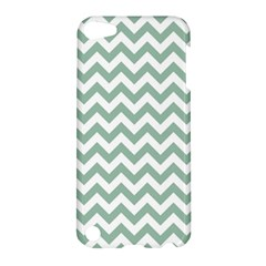 Jade Green And White Zigzag Apple Ipod Touch 5 Hardshell Case