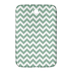 Jade Green And White Zigzag Samsung Galaxy Note 8.0 N5100 Hardshell Case