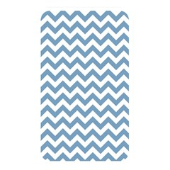 Blue And White Zigzag Memory Card Reader (Rectangular)