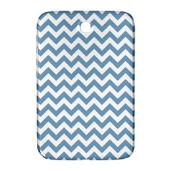 Blue And White Zigzag Samsung Galaxy Note 8.0 N5100 Hardshell Case