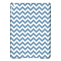 Blue And White Zigzag Apple iPad Air Hardshell Case