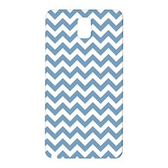 Blue And White Zigzag Samsung Galaxy Note 3 N9005 Hardshell Back Case