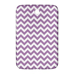 Lilac And White Zigzag Samsung Galaxy Note 8 0 N5100 Hardshell Case