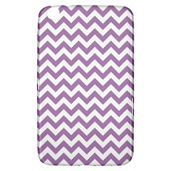 Lilac And White Zigzag Samsung Galaxy Tab 3 (8 ) T3100 Hardshell Case