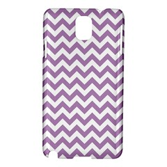 Lilac And White Zigzag Samsung Galaxy Note 3 N9005 Hardshell Case