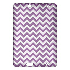 Lilac And White Zigzag Kindle Fire HD 7  (2nd Gen) Hardshell Case