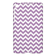 Lilac And White Zigzag Google Nexus 7 (2013) Hardshell Case