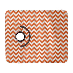 Orange And White Zigzag Samsung Galaxy S  III Flip 360 Case