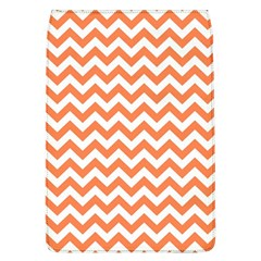 Orange And White Zigzag Removable Flap Cover (Large)