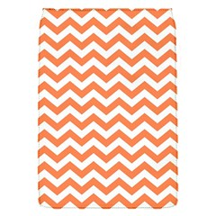 Orange And White Zigzag Removable Flap Cover (Small)
