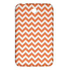 Orange And White Zigzag Samsung Galaxy Tab 3 (7 ) P3200 Hardshell Case
