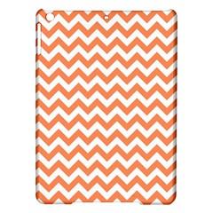 Orange And White Zigzag Apple Ipad Air Hardshell Case