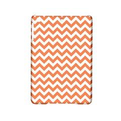 Orange And White Zigzag Apple iPad Mini 2 Hardshell Case