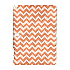 Orange And White Zigzag Samsung Galaxy Note 10 1 (p600) Hardshell Case