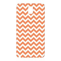 Orange And White Zigzag Samsung Galaxy Note 3 N9005 Hardshell Back Case
