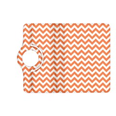 Orange And White Zigzag Kindle Fire HD 7  (2nd Gen) Flip 360 Case