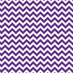 Purple And White Zigzag Pattern Canvas 12  x 12  (Unframed)