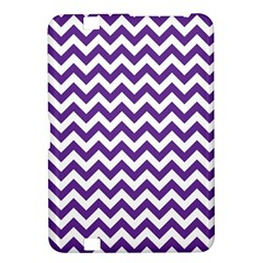 Purple And White Zigzag Pattern Kindle Fire HD 8.9  Hardshell Case