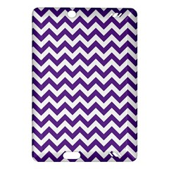 Purple And White Zigzag Pattern Kindle Fire Hd 7  (2nd Gen) Hardshell Case