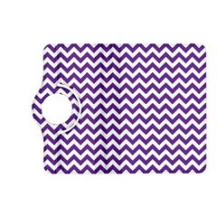 Purple And White Zigzag Pattern Kindle Fire HD 7  (2nd Gen) Flip 360 Case
