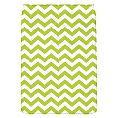 Spring Green And White Zigzag Pattern Removable Flap Cover (small)