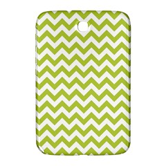 Spring Green And White Zigzag Pattern Samsung Galaxy Note 8.0 N5100 Hardshell Case