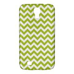 Spring Green And White Zigzag Pattern Samsung Galaxy Mega 6.3  I9200 Hardshell Case