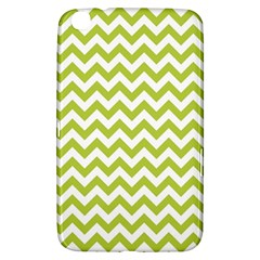 Spring Green And White Zigzag Pattern Samsung Galaxy Tab 3 (8 ) T3100 Hardshell Case