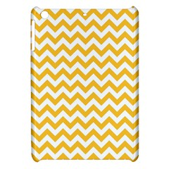 Sunny Yellow And White Zigzag Pattern Apple iPad Mini Hardshell Case