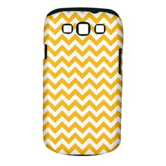 Sunny Yellow And White Zigzag Pattern Samsung Galaxy S III Classic Hardshell Case (PC+Silicone)