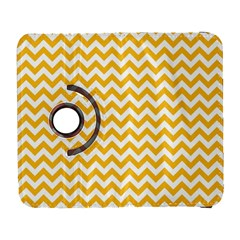 Sunny Yellow And White Zigzag Pattern Samsung Galaxy S  Iii Flip 360 Case