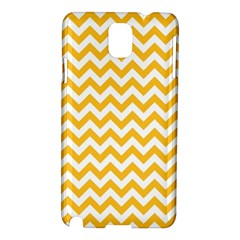 Sunny Yellow And White Zigzag Pattern Samsung Galaxy Note 3 N9005 Hardshell Case