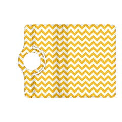 Sunny Yellow And White Zigzag Pattern Kindle Fire Hd 7  (2nd Gen) Flip 360 Case