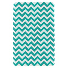 Turquoise And White Zigzag Pattern Kindle Fire (1st Gen 2011) Hardshell Case