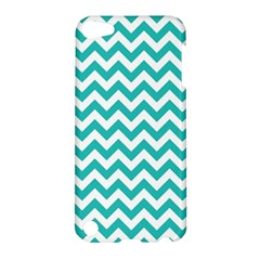 Turquoise And White Zigzag Pattern Apple iPod Touch 5 Hardshell Case