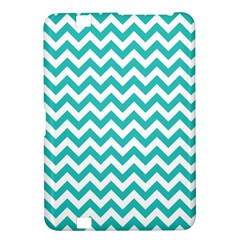 Turquoise And White Zigzag Pattern Kindle Fire HD 8.9  Hardshell Case
