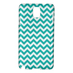 Turquoise And White Zigzag Pattern Samsung Galaxy Note 3 N9005 Hardshell Case