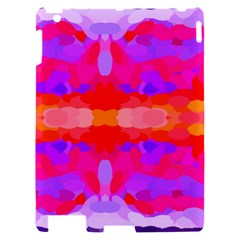 Purple, Pink And Orange Tie Dye  By Celeste Khoncepts Com Apple iPad 2 Hardshell Case