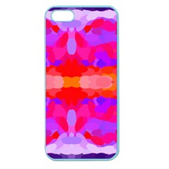 Purple, Pink And Orange Tie Dye  By Celeste Khoncepts Com Apple Seamless iPhone 5 Case (Color)