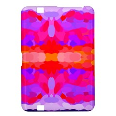 Purple, Pink And Orange Tie Dye  By Celeste Khoncepts Com Kindle Fire HD 8.9  Hardshell Case