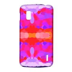 Purple, Pink And Orange Tie Dye  By Celeste Khoncepts Com Google Nexus 4 (LG E960) Hardshell Case