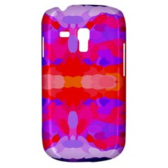 Purple, Pink And Orange Tie Dye  By Celeste Khoncepts Com Samsung Galaxy S3 MINI I8190 Hardshell Case