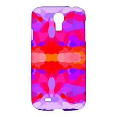 Purple, Pink And Orange Tie Dye  By Celeste Khoncepts Com Samsung Galaxy S4 I9500/I9505 Hardshell Case