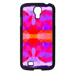 Purple, Pink And Orange Tie Dye  By Celeste Khoncepts Com Samsung Galaxy S4 I9500/ I9505 Case (Black)