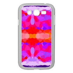 Purple, Pink And Orange Tie Dye  By Celeste Khoncepts Com Samsung Galaxy Grand DUOS I9082 Case (White)