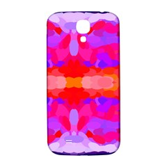 Purple, Pink And Orange Tie Dye  By Celeste Khoncepts Com Samsung Galaxy S4 I9500/I9505  Hardshell Back Case