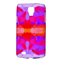 Purple, Pink And Orange Tie Dye  By Celeste Khoncepts Com Samsung Galaxy S4 Active (I9295) Hardshell Case