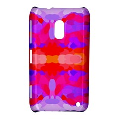 Purple, Pink And Orange Tie Dye  By Celeste Khoncepts Com Nokia Lumia 620 Hardshell Case