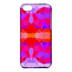 Purple, Pink And Orange Tie Dye  By Celeste Khoncepts Com Apple Iphone 5c Hardshell Case