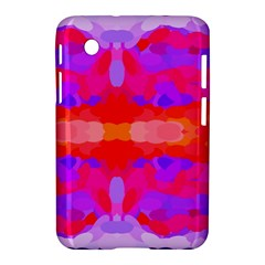 Purple, Pink And Orange Tie Dye  By Celeste Khoncepts Com Samsung Galaxy Tab 2 (7 ) P3100 Hardshell Case